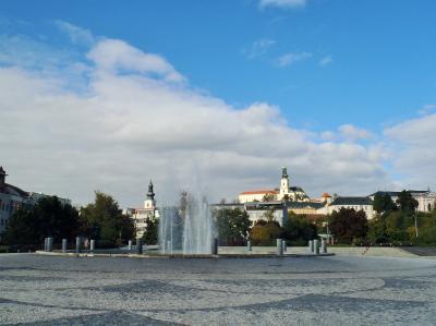 2015秋のスロバキア 03 スロバキア西部の町ニトラ(Nitra)到着