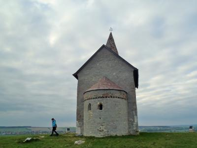 2015秋のスロバキア 04 Dražovceの聖ミカエル教会へ