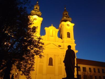 2015秋のスロバキア 06 ニトラの夜