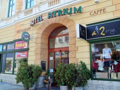 2015秋のスロバキア 09 Hotel Atrium