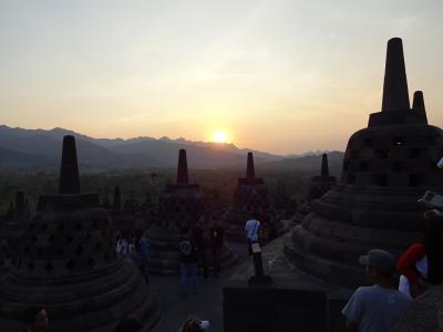 初めての南半球インドネシアと2度目のソウル 2(ジャカルタ~ジョグジャカルタ~ボロブドゥール)