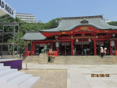 「サウダーデ」モラエスの住んだ町(31)神戸三ノ宮生田神社。