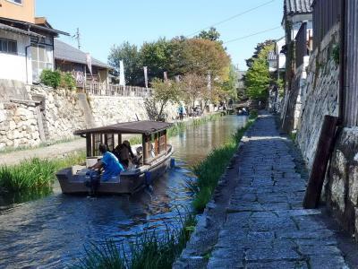 秋の旅行<3> (近江八幡・安土城)