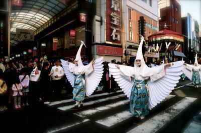知らない浅草⑧ ー白鷺の舞・どぜう飯田屋・アンヂェラス・助六ー