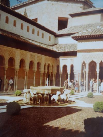 (2)1980年旧西欧(16か国)エジプト パキスタン インド ネパール136日間放浪の旅⑳スペイン(グラナダ)