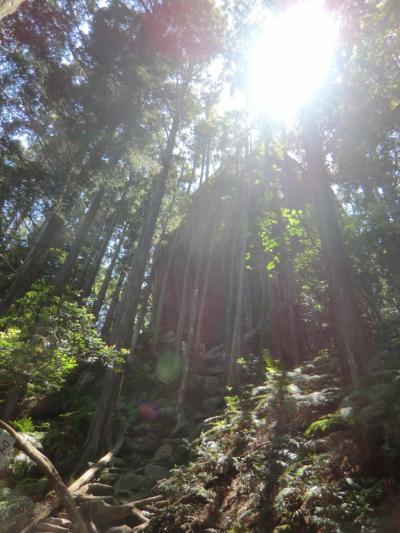 ちょっと熊野古道 (^O^) 馬越峠と天狗倉山