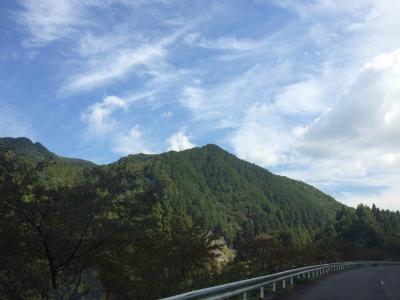 京丹波町秘密基地 松阪まで薪の配達
