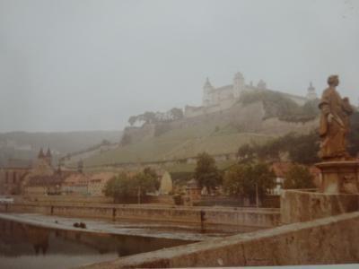 (2)1980年旧西欧(16か国)エジプト パキスタン インド ネパール136日間放浪の旅(51)ドイツ(ヴュルツブルグ)