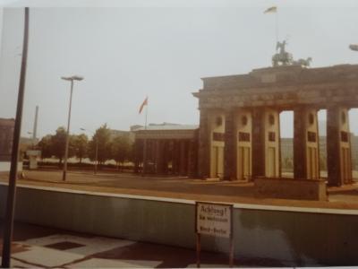 (2)1980年旧西欧(16か国)エジプト パキスタン インド ネパール136日間放浪の旅(57)ドイツ(東・西ベルリンと壁)