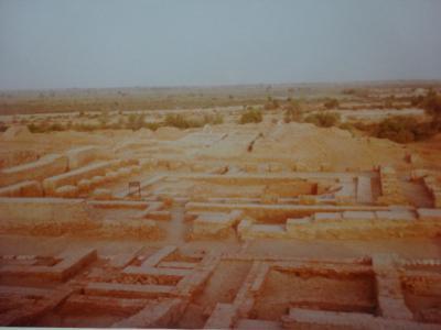(2)1980年旧西欧(16か国)エジプト パキスタン インド ネパール136日間放浪の旅(80)パキスタン(モヘンジョダロ)