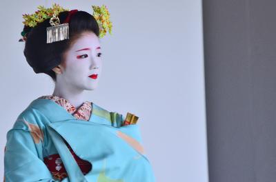 2015 京都をぶらり(9)きもので集う園遊会(舞妓・芸妓さん)