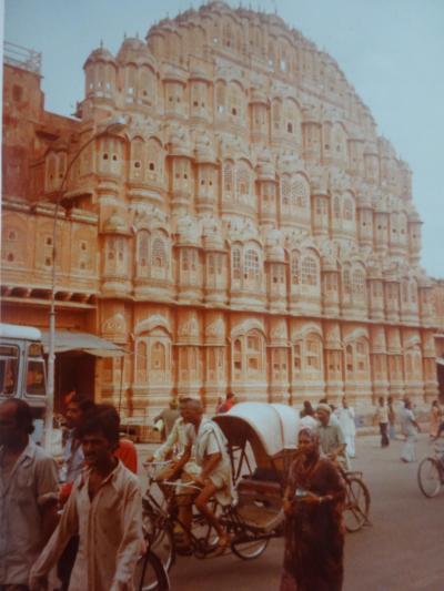 (2)1980年旧西欧(16か国)エジプト パキスタン インド ネパール136日間放浪の旅(85)インド(ジャイプール)