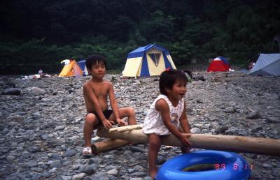 秩父キャンプ 長瀞をカヌーで下る