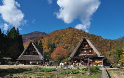 富山 晩秋の五箇山と・・
