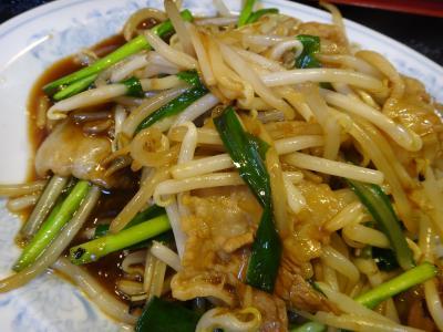 20151111 川崎南部市場 休市日の東方紅飯店さん、韮菜豚肉定食のお昼ごはん