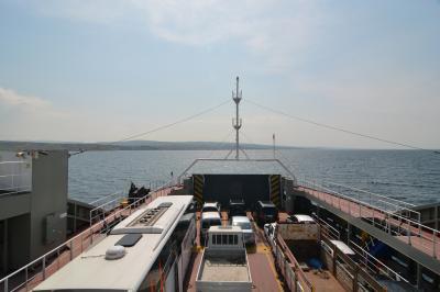 春休み、トルコ周遊旅行その2 ダーダネルス海峡をわたって、アジア側へ
