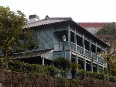 長崎食の博覧会見物とオランダ坂を歩いて東山手甲十三番館へ入館