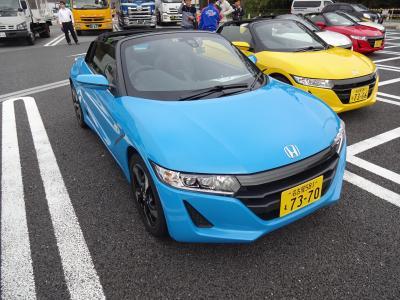 ホンダS660、鈴鹿サーキットで試乗会 2015.11.13
