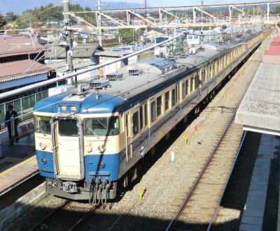 山旅紀行/八ヶ岳連峰天狗岳と秘湯本沢温泉・その1.懐かしの鈍行列車で八ヶ岳へ。