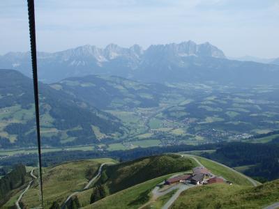 オーストリアのチロル&エーアヴァルト、ドイツのバイエルンの旅 【18】 先ずは昨日と反対のコースをハイキング