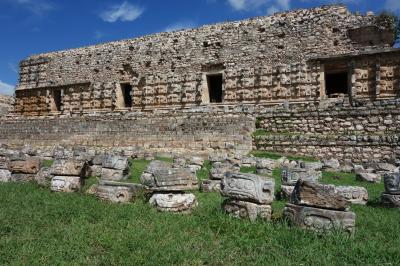 2015秋メキシコの旅 ~その6 カバー遺跡とウマンの市場、メリダ