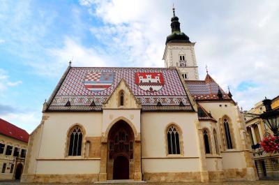 JALチャーター直行便で行くクロアチア・スロベニア・モンテネグロ7泊9日:3日目その2ザグレブ観光