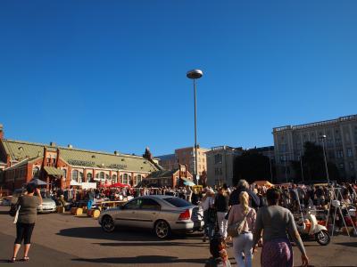 フィンランド3泊5日の弾丸旅行(ちょこっとエストニア・タリン)★その4(蚤の市とマリメッコ)