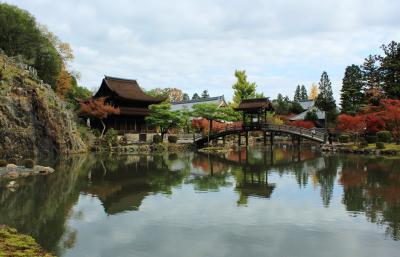 京都に行かなくったって素敵なお庭が見れる 紅葉の虎渓山永保寺と多治見修道院♪