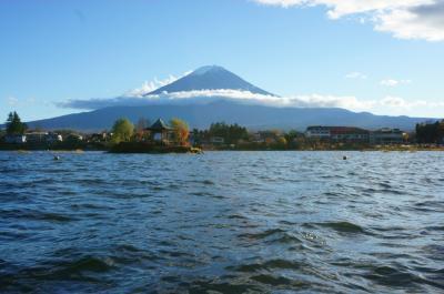 河口湖 & 富士急ハイランド・コテージ宿泊の旅