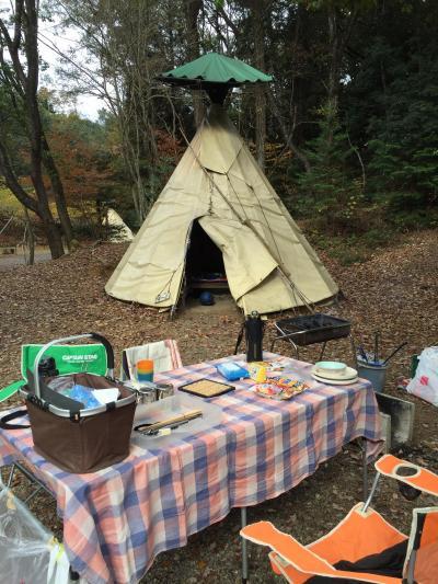 秋を楽しむアウトドアinアウトドアベース犬山キャンプ場