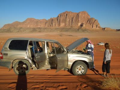 砂漠の国ヨルダン。6.ワディ・ラムツアー(二日目) そして、アカバへ。