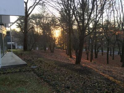 【2015・11】晩秋の群馬・草津~季節外れの暖かな草津温泉2日間・終り