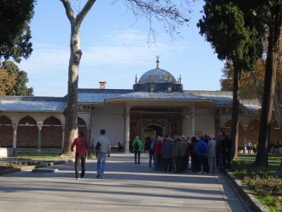 イスタンブール観光、1日目午前中、トプカプ宮殿