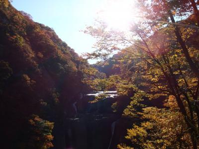 2015年11月、袋田の滝(前編)