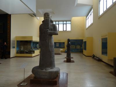 イスタンブール観光、1日目午前中、考古学博物館