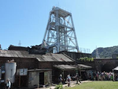 世界遺産!三池炭鉱専用鉄道敷き跡を歩み万田坑へ
