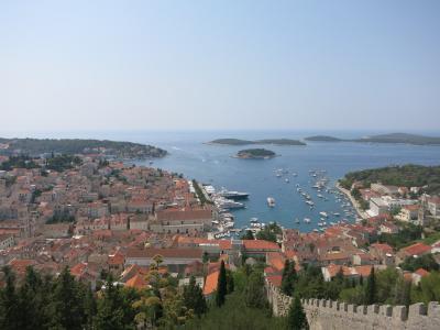 こんな綺麗な海、見た事ない!/クロアチア フヴァル島