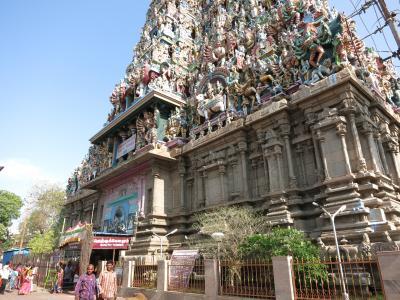楽園の南インド周遊(1) カーンチプラム、マハーバリプラム、マドゥライ