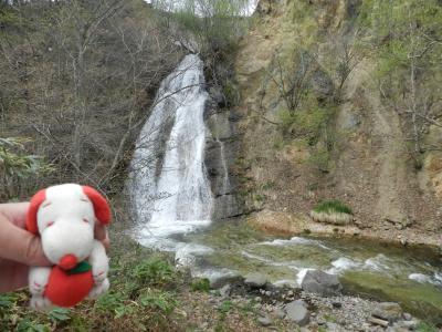 再訪の『二重滝』→改め『浄水の滝』でリンゴスヌ君のトラウマを解消!?~帰路◆2015GW・群馬県&長野県の滝めぐり≪その16・最終章≫