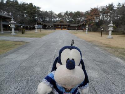 グーちゃん、諏訪大社参拝を終え浅間温泉へいく!(浅間温泉への長い道のり!編)