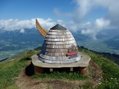 オーストリアのチロル&エーアヴァルト、ドイツのバイエルンの旅 【24】 キッツビューラーホルンへ上って行くよ~
