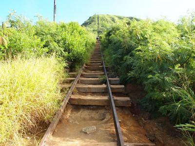 2015 カイルア拠点のハワイ旅4泊6日④ ~3日目・前編 線路は続くよ、天までも?!ココ・クレーター・トレイル~