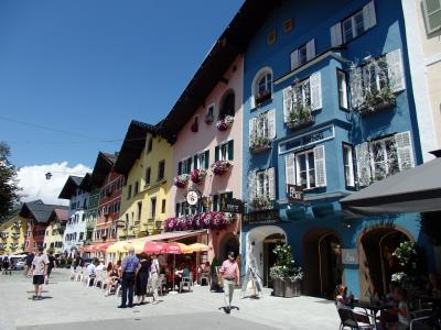 オーストリアのチロル&エーアヴァルト、ドイツのバイエルンの旅 【26】 しつこいけど(2)^^;キッツビュールの町並み散策