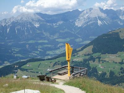 オーストリアのチロル&エーアヴァルト、ドイツのバイエルンの旅 【30】 ブリクセンタールから戻ってきて山上&セルの町並み散歩♪