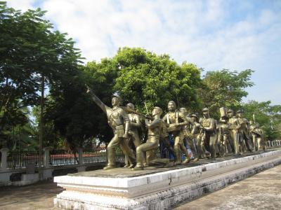 2015ラオス人民軍歴史博物館へ行く