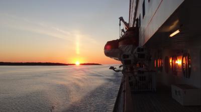 15年夏休み~ポーランド、バルト三国とヘルシンキ★16 大型客船シリアセレナーデでストックホルムまで船の旅