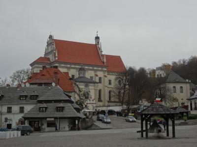 途中下車、ポーランドで最も美しい村 カジミエシュ・ドルヌィ