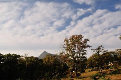 秋のキャンプ(奥大山鏡ヶ成オートキャンプ場)