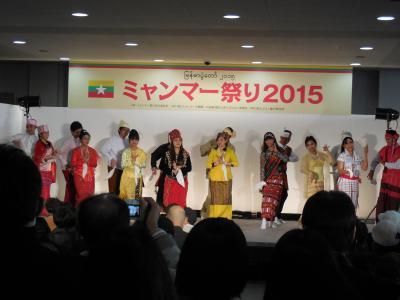 増上寺で開催されたミャンマー祭り2015をぶらぶら