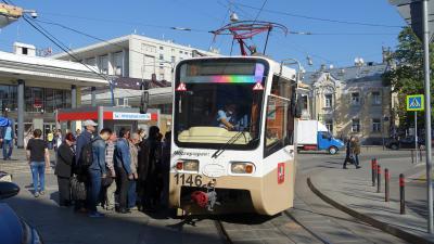 路面電車の旅7(モスクワ)